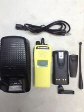 MOTOROLA XTS2500 UHF 380-470mhz P25 DIGITAL Radio H46QDD9PW5BN Yellow