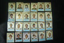Panini Fußball 81: Kompletter Satz Glitzerbilder Deutsche Nationalspieler EM 80