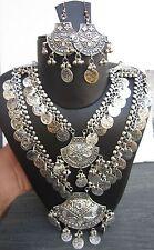 Long Boho Necklace Earring Tribal Bohemian Hippie Gypsy Style Fashion Jewelry