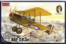 Roden WWI RAF S.E.5a (w Hispano Suiza), James McCudden  in 1/72 023 ST