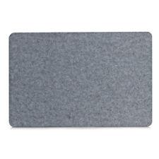Zeller Platzset Filz 45x30 XM grau Platzmatte Filzuntersetzer
