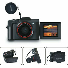 Flip Screen Digital SLR Camera 3.0 Inch TFT LCD Screen 16X Zoom HD 16MP 1080P