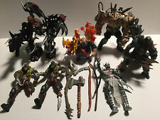 Lot of 7 McFarlane Spawn Action Figures & Random Accessories - FREE S&H