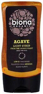 Biona Light Agave Syrup - Organic 250ml