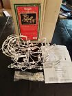 1996 Brite Star Illuminated Sleigh Lighted Mini Wire Christmas Sculpture In Box