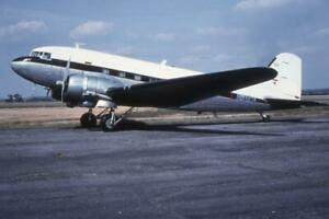 35mm Aircraft Slide Martin Baker G-APML Douglas C-47 Skytrain 1981 Chalgrove
