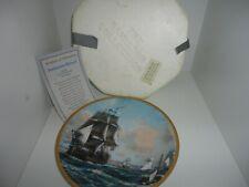 The Hamilton Collection Bonhomme Richard Ship Collectible Plate