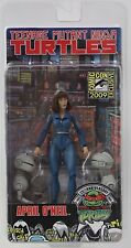 "APRIL O'NEIL & MOUSERS TMNT SDCC 2009 NECA 25th Anniversary 7"" Inch FIGURE"