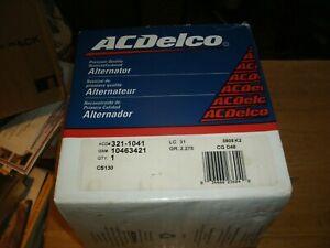 AC Delco Reman Alternator 321-1041  #10463421