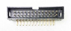 3 Pcs - Male Box IDC Header - 26 (2X13) Pin - Dual Row - Right Angle PCB Mount