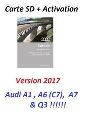 Audi Version Europe 2017 (RMC) Carte SD Navigation