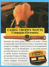 MOTOSPRINT987-PUBBLICITA'/ADVERTISING-1987- CAMEL TROPHY WATCH