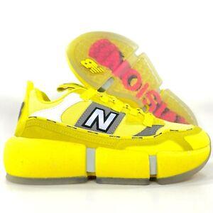 New Balance Vision Racer Jaden Smith Yellow White MSVRCJSB Men's 9