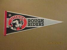 CFL Ottawa Rough Riders Vintage 1992 Football Pennant