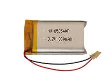 3,7v-800mAh Lipo Akku- Lithium-Ion Polymer Battery 3,7v - 800 mAh