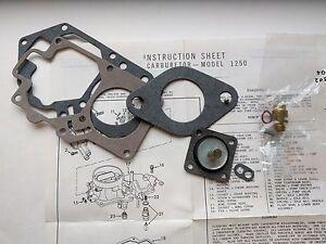 SAAB 96,95,97 v4 Sonett Single Barrel FoMoCo Carburetor Tune / Repair Kit  FO1K