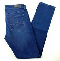 AG Adriano Goldschmied Women's Jeans Sz 26 The Prima Mid Rise Cigarette Skinny