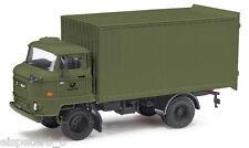 Busch 95528 Espewe: IFA L60 etk. POST, verde, H0 Vehículo Modelo a escala 1:87