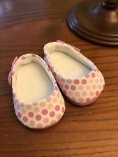 American Girl Pink Polka Dot Flats Shoes Truly Me