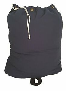 Owen Sewn HEAVY DUTY 30x40 CANVAS LAUNDRY BAG with 6 BRASS GROMMETS and HANDLE