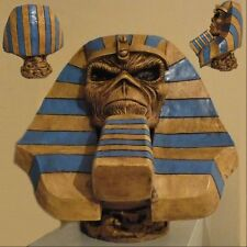 IRON MAIDEN Powerslave Eddie Pharaoh STATUE BUST BIG HEAD SCULPTURE CD LP