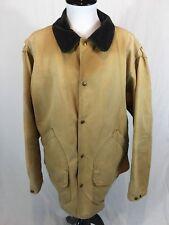 Vtg Woolrich Barn Coat Men's Large Wool Navajo Lining Work Field Jacket USA MADE