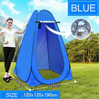 Portable Pop Up Tent Privacy Changing Room Outdoor Toilet Shower Changing BLUE