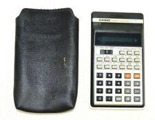 Vintage 1980s Casio Fx-21 Scientific Calculator Vfd Display Made in Japan