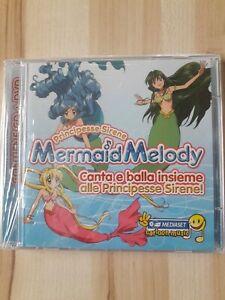 Principesse Sirene Mermaid Melody Contiene CD + DVD Nuovo Sigillato