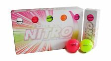 Nitro White Out Golf Balls Multi-Color ~ Brand New in Box