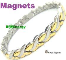 Pulsera magnética energía del imán de energía Salud Bio Brazalete Brazalete Artritis