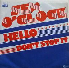 "7"" 1978 RARE GERMAN ARIOLA MINT- ! SEX O´CLOCK : Hello"