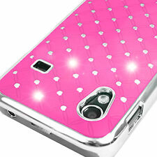 Pink Diamante Case Cover for Samsung Galaxy Ace S5830