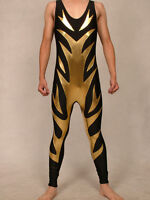 Lycra Spandex Zentai Costume wrestling tights//pants S-XXL D008