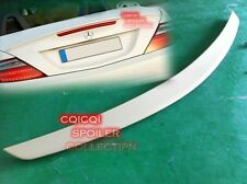 Unpainted MERCEDES BENZ 2012~2016 R172 SLK AMG type trunk spoiler ABS ◎