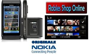 Nokia N8-00 Grey 16GB (Ohne Simlock GPS 3G 12MP WLAN Made Finland NEU OVP