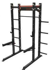 SPART Squat Power Rack / Crossfit Cage / Weight Lifting Frame with plates hanger
