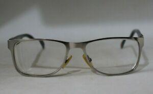 Hugo Boss - Boss Orange Silver & Grey Mens Rectangular Metal Glasses Frames