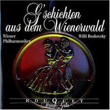 Strauss, Johann/Sohn/Eduard G'schichten aus dem Wienerwald (Decca/Bouquet.. [CD]