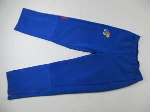 Kansas Jayhawks adidas Athletic Pants Men's Blue Poly Used L