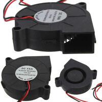 12V 50x50mm 6500RPM Blow Radial Kühlung Lüfter Hotend Für RepRap 3D Drucker Part