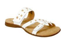 Revitalign/Spenco Total Support Sandal Playa Slide White  Sz 7