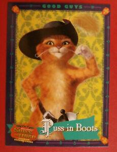 SHREK THE THIRD - Complete Base Set - 72 cards - Inkworks 2007.