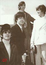 Beatles Postkarte No. 07 - b/w - Bester Zustand