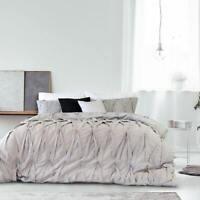 Ardor Lace Silver Duvet | Doona | Quilt Cover Set | Embellished