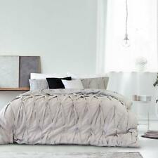 Ardor Lace Silver Duvet Doona Quilt Cover Set. Embellished adds a touch of class