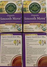 Traditional Medicinals. Smooth Move Organic Tea 64 Bags