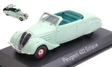 Peugeot 402 Eclipse 1937 Light Green 1:43 Model NOREV