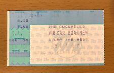 1992 Duckhills Vulgar Boatmen Stump The Host Metro Chicago Concert Ticket Stub 2