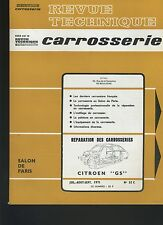 (32B) REVUE TECHNIQUE AUTOMOBILE SERVICE CARROSSERIE CITROEN GS